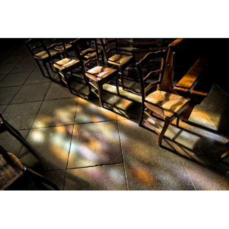 Divine lumière - Digigraphie