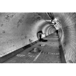 Lonely singer - Digigraphie